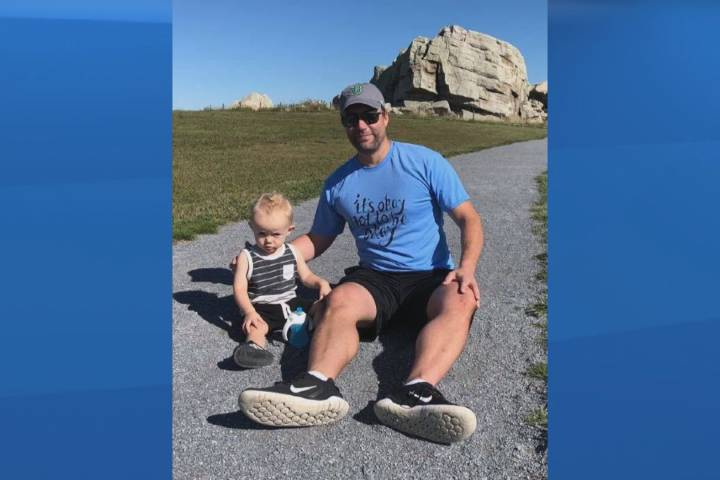 'It's okay not to be okay': Calgary dad's simple message aimed at tackling mental health stigma