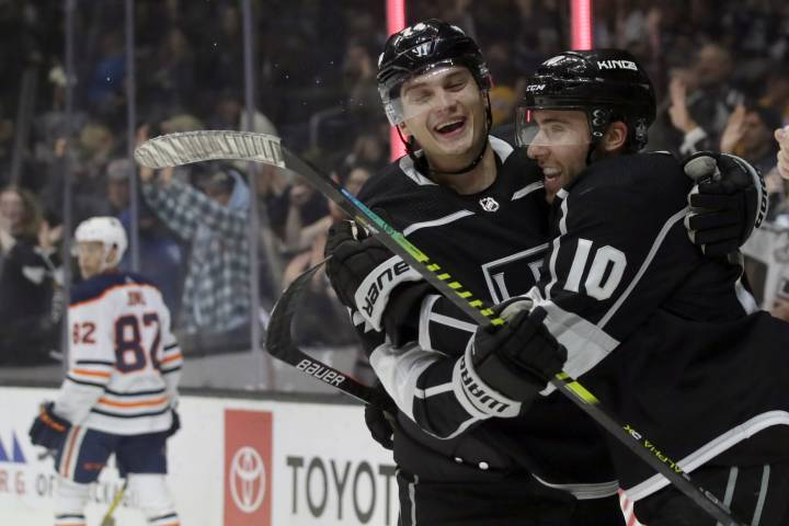Kings strike early on the way to a win over Edmonton Oilers