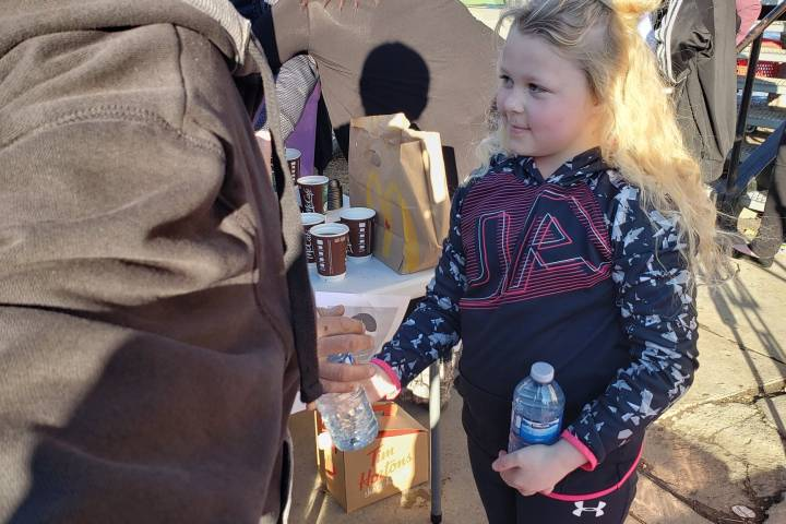 Leduc girl, 7, gives the homeless backpacks filled with essentials