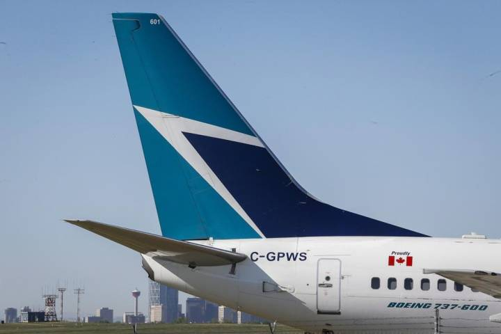 Runway at Calgary airport shut down Tuesday after WestJet flight mishap