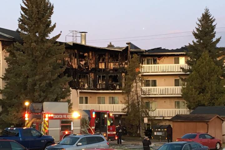 Smoking to blame for $3.7M south Edmonton apartment fire: 'It's very upsetting'