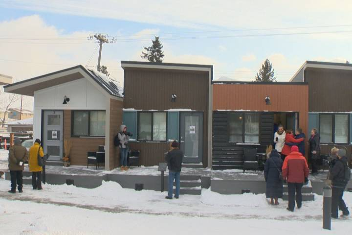 Veterans village of tiny homes pitched for north Edmonton