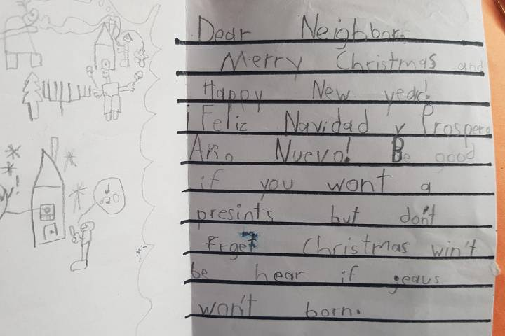 16-year Christmas card tradition sparks hunt for Grade 2 author 'Your friend, Angus'