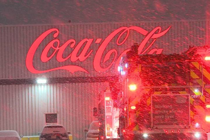 51 workers evacuated after ammonia leak at Calgary Coca-Cola plant