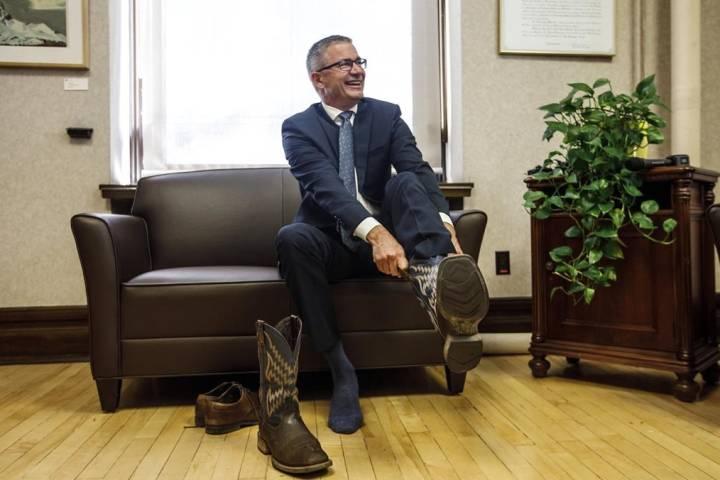 Alberta MLA's vote Finance Minister Travis Toews 'member of the year'