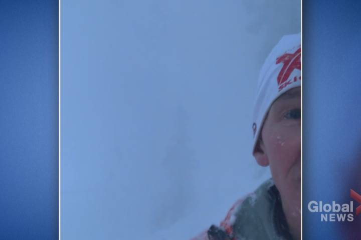 Calgary man's escape from avalanche caught on camera