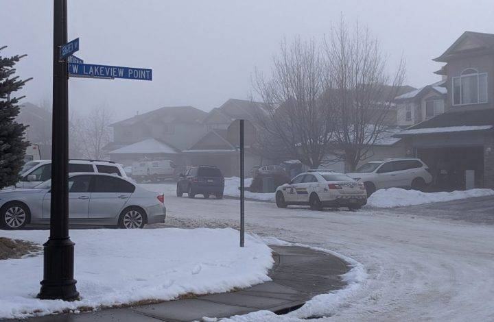Chestermere RCMP respond to reports of gunfire in house