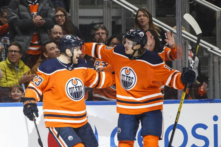 Edmonton Oilers close out home stand against Hurricanes