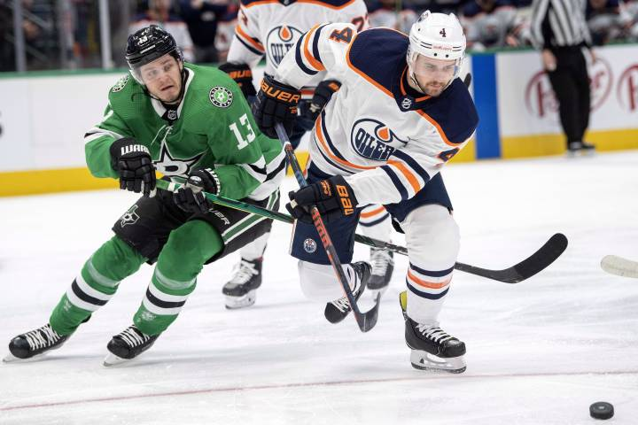 Edmonton Oilers hang on for 2-1 win in Dallas