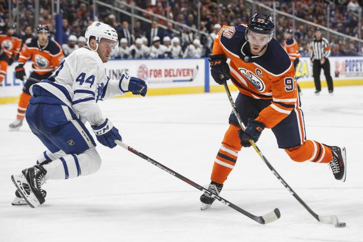 Edmonton Oilers searching for answers with Leafs up next