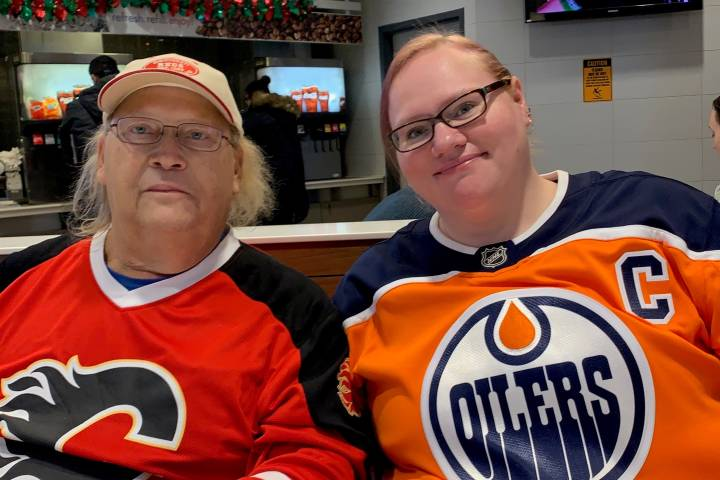 Father-daughter duo gifted tickets to Battle of Alberta game to make special memories