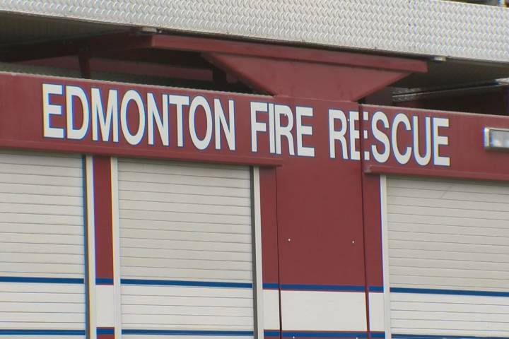 Fire breaks out at west Edmonton hotel