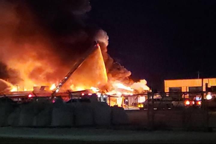 Fire destroys Ponoka slaughterhouse, all animals saved