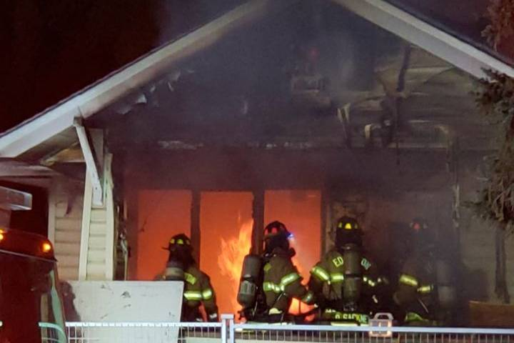 Firefighters respond to blaze at home near Edmonton's Commonwealth Stadium