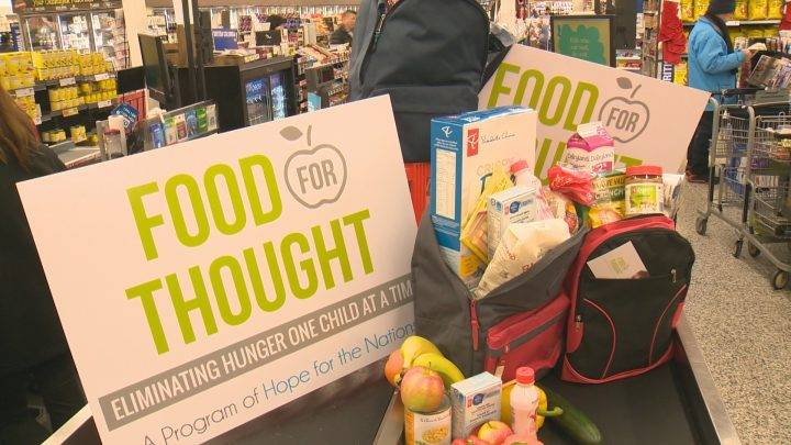 Food program hoping to expand 'backpack' idea for hungry school children in the Okanagan
