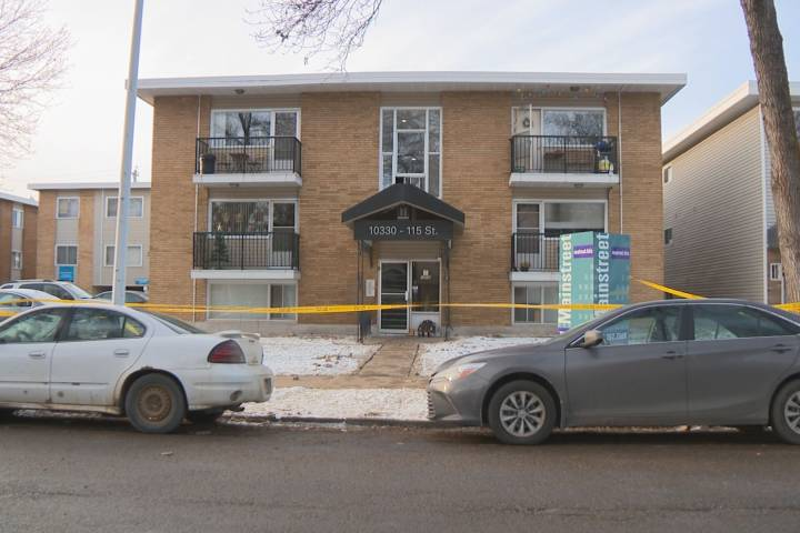 Homicide detectives investigate suspicious death in central Edmonton