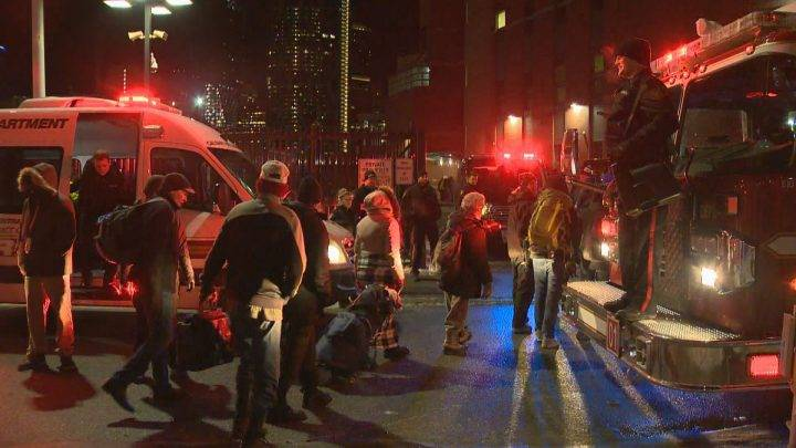 More than 800 people forced to evacuate Calgary Drop-In Centre due to fire scare