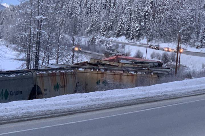 No injuries reported after 23 CN railcars derail in Fraser-Fort George, B.C.