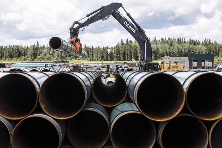 Trans Mountain pipeline expansion officially kicks off construction on Tuesday