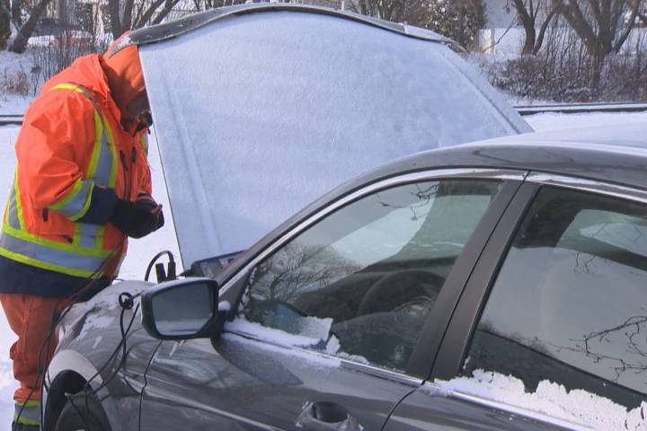 AMA receives 6 times more calls than usual for roadside assistance during cold snap