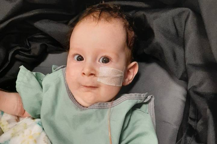 Alberta family raising $2.8 million for baby to receive cure for spinal muscular atrophy in U.S.