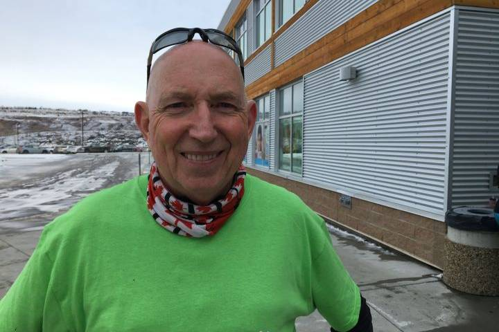 Cochrane's 'Marathon Man' overcomes health problems to wrap up efforts to help kids