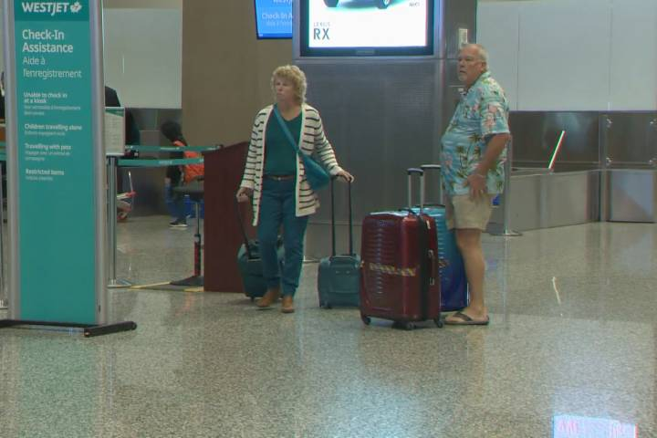 Cold Alberta weather prompts many to fly to warmer climates