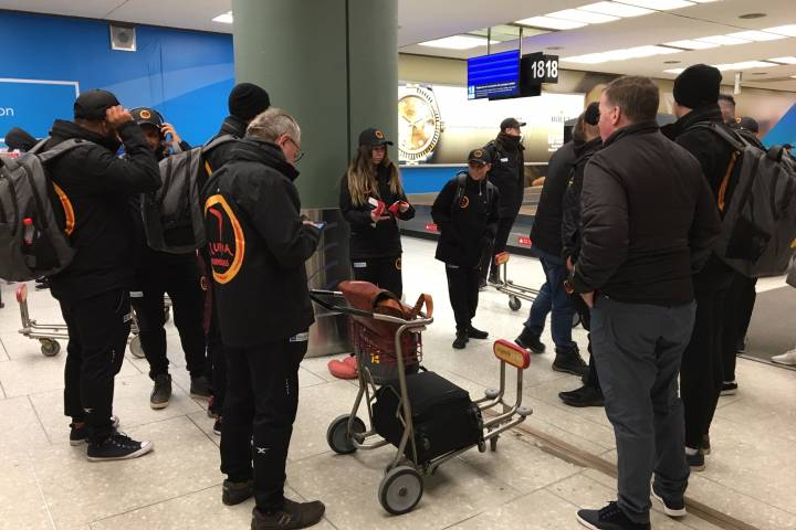Down Under to deep freeze: Indigenous hockey team from Australia arrives in Edmonton