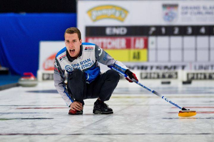 Edmonton's Brendan Bottcher loses as Europe takes early lead over Canada at Continental Cup curling