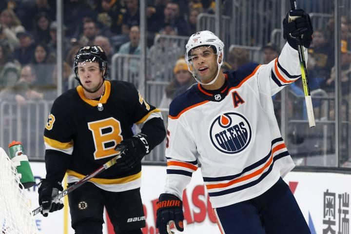 Edmonton Oilers bag big win in Boston