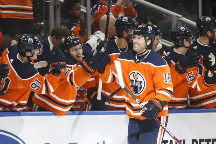 Edmonton Oilers hang on for wild win over Rangers