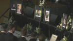 Edmontonians gather to remember victims of Ukrainian flight shoot down