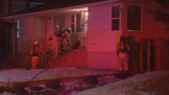Families, cat safe after southwest Calgary duplex fire