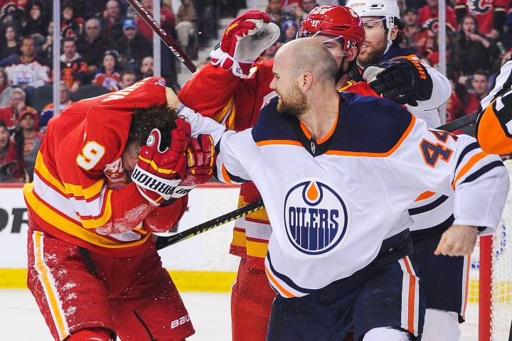 Flames' Tkachuk attempting to distance himself from feud with Kassian, Oilers