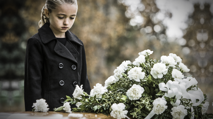 Helping children mourn: 'If you're old enough to love, you're old enough to grieve'