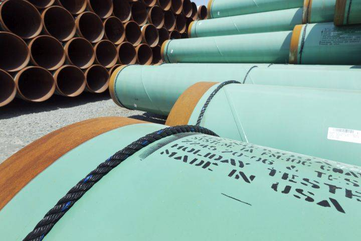 Keystone XL schedule calls for pipeline construction to cross U.S.-Canada border in April