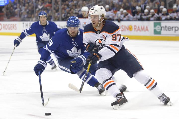 McDavid scores a beauty, has 4 points as Edmonton Oilers beat Leafs