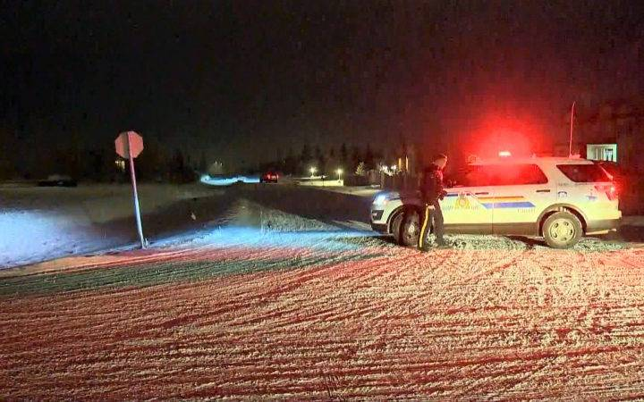 RCMP investigation underway following shooting east of Calgary