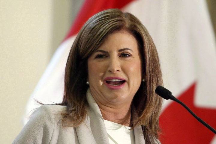 Rona Ambrose announces she will not run for Conservative leadership