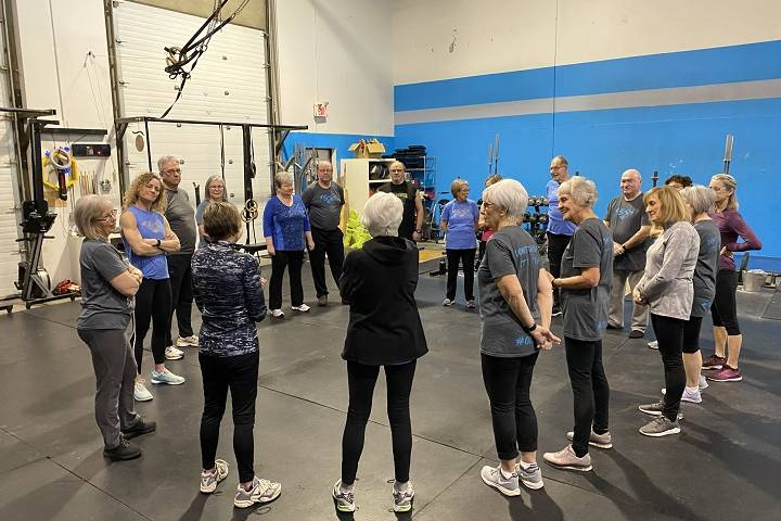 Seniors-only workout class in Sherwood Park gives mental and physical boost