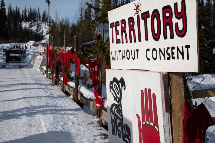 B.C. hereditary chiefs launch climate court challenge of contentious pipeline