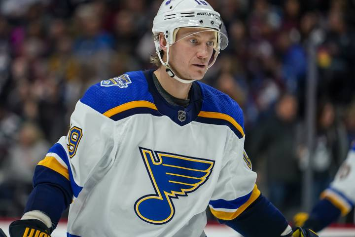 Bouwmeester 'doing very well' after cardiac episode during game: Blues GM