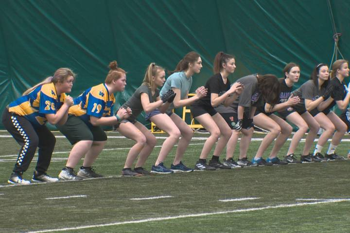 Edmonton's all-female tackle football division expands with a new team