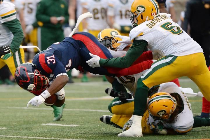 Edmonton Eskimos bring back linebacker Jovan Santos-Knox