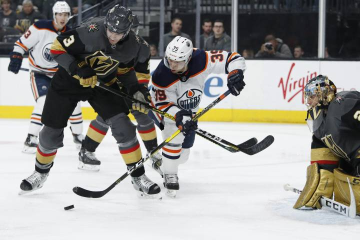 Edmonton Oilers come up empty in Vegas