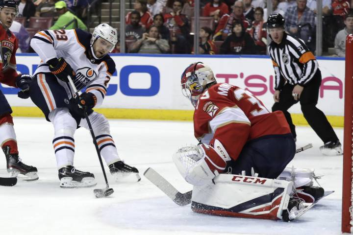 Edmonton Oilers scratch Panthers for road win