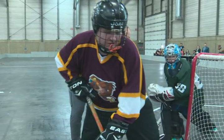 Edmonton floor hockey tournament benefits Special Olympics