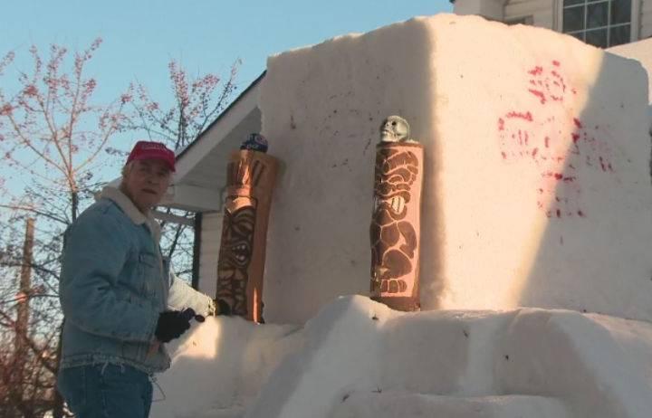 Edmonton man provides taste of Mexico through snow sculpting passion