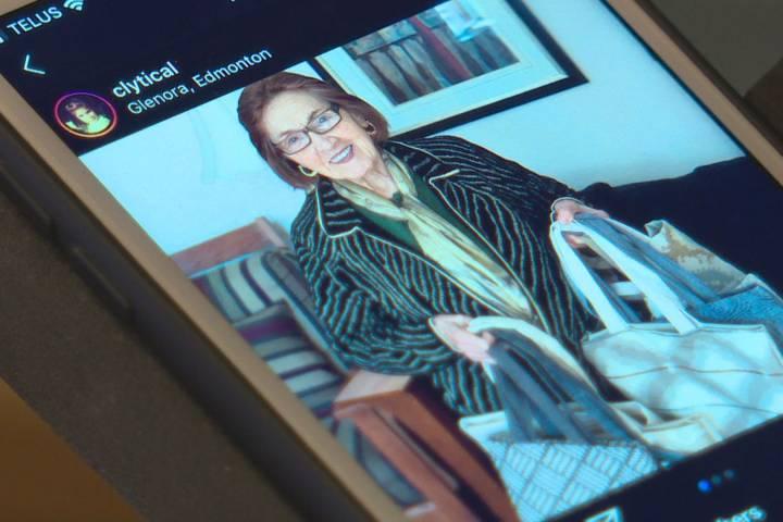 Edmonton restaurant supports senior making handbags for children's education in Turkey