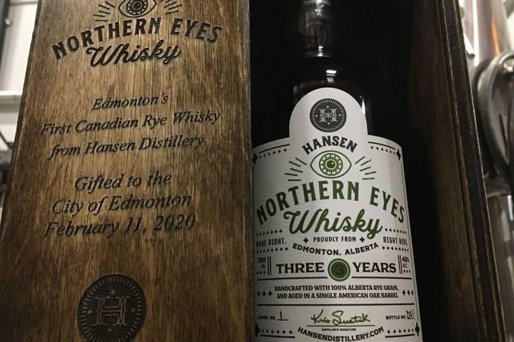 Hansen Distillery unveils first-ever Edmonton-made whisky